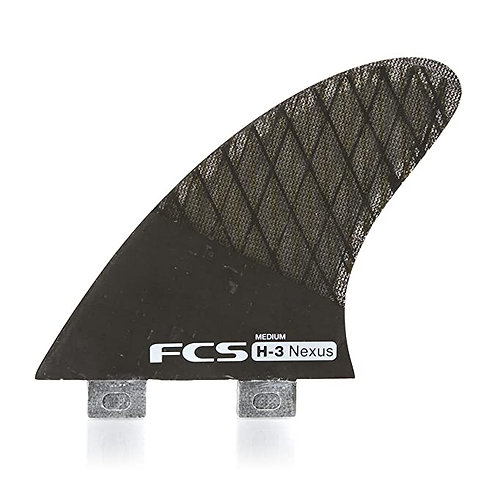 FCS FINS H3 NEXUS NEGRO MEDIUM