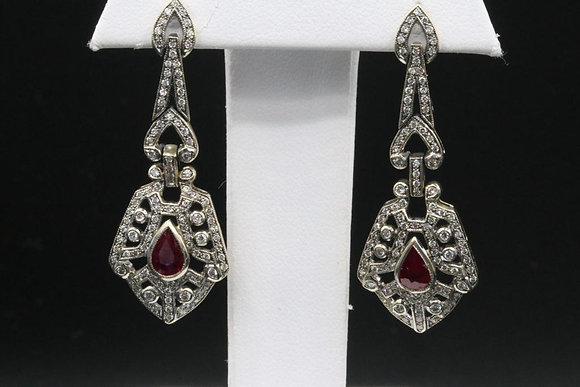 Antique Reproduction 18k Gold Earrings