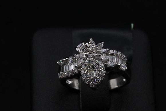Diamond 18k Gold Ring