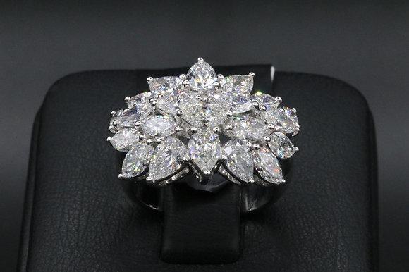 Diamond 18k Gold Rign
