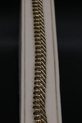 10K Gold Cuban Bracelet