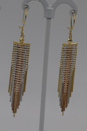 Diamond Jewellery 18K Gold Earrings