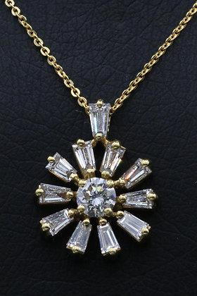 Diamond Jewellery 18K Gold Necklace