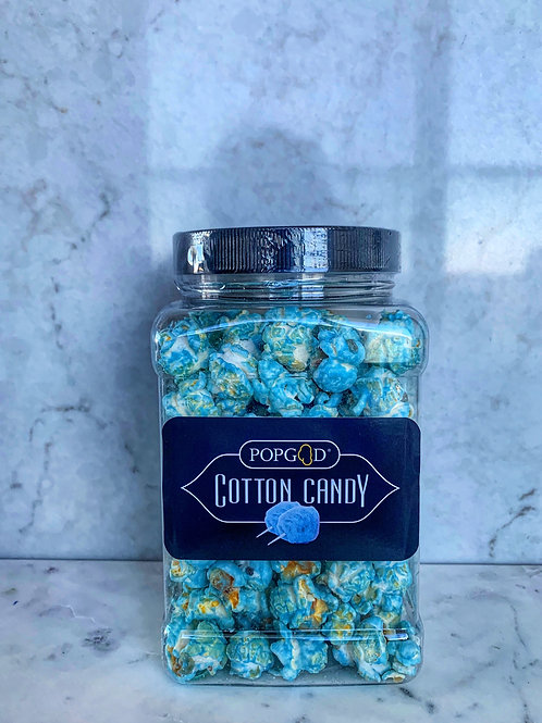 Blue Cotton Candy Popcorn