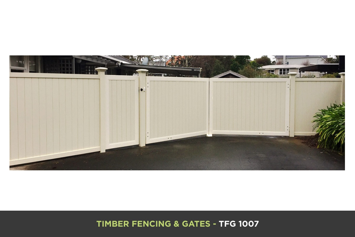 Timber Fencing and Gates - TFG 1007