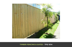 Timber Fencing and Gates - TFG 1014