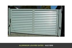 Aluminium Louvre Gate - ALG 1010