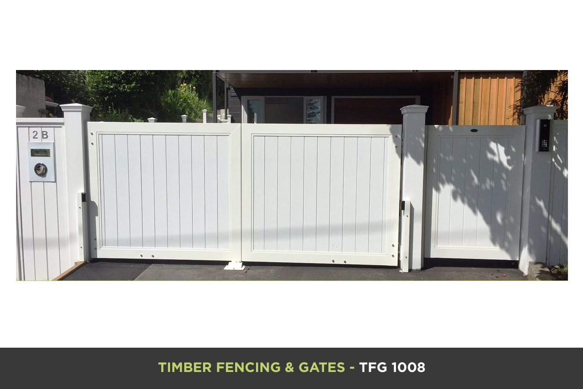 Timber Fencing and Gates - TFG 1008