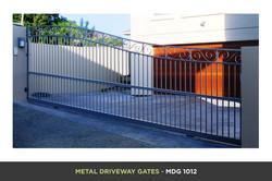 Metal Driveway Gate - MDG 1012