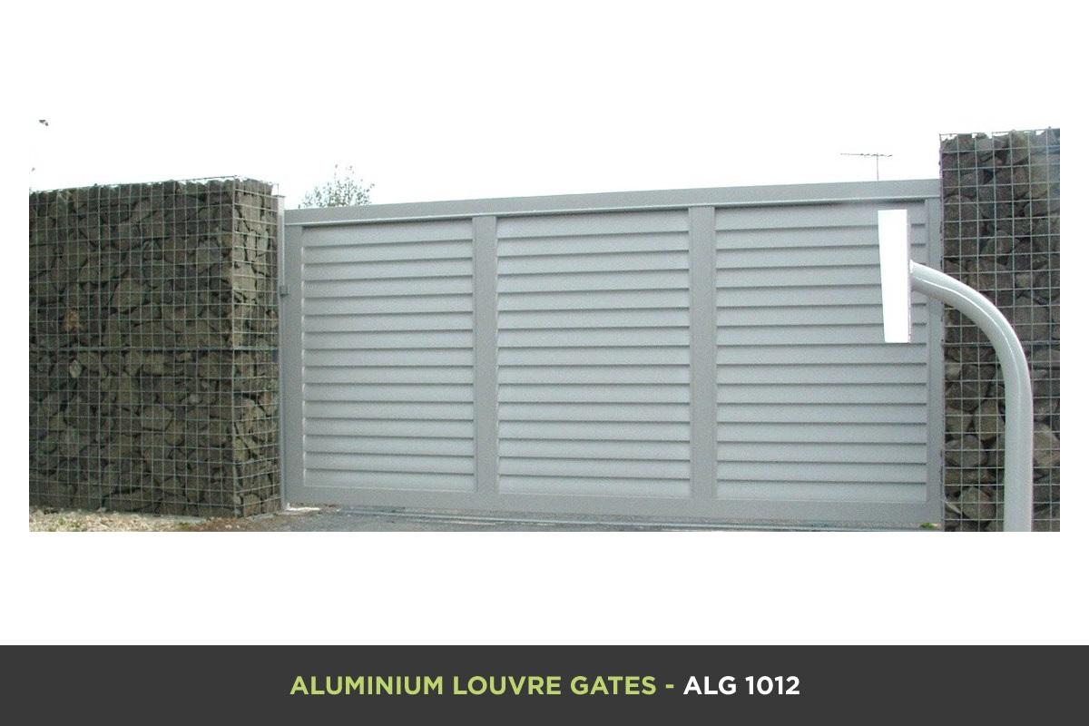 Aluminium Louvre Gate - ALG 1012