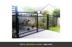 Metal Driveway Gate - MDG 1007