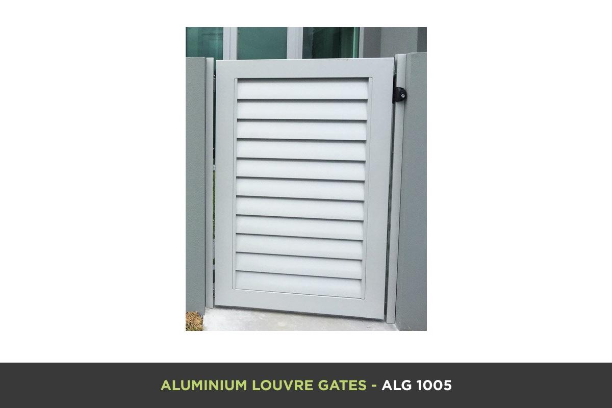 Aluminium Louvre Gate - ALG 1005