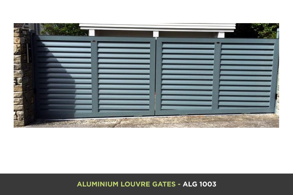 Aluminium Louvre Gate - ALG 1003