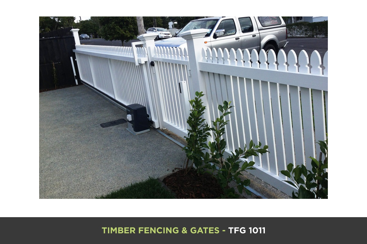 Timber Fencing and Gates - TFG 1011