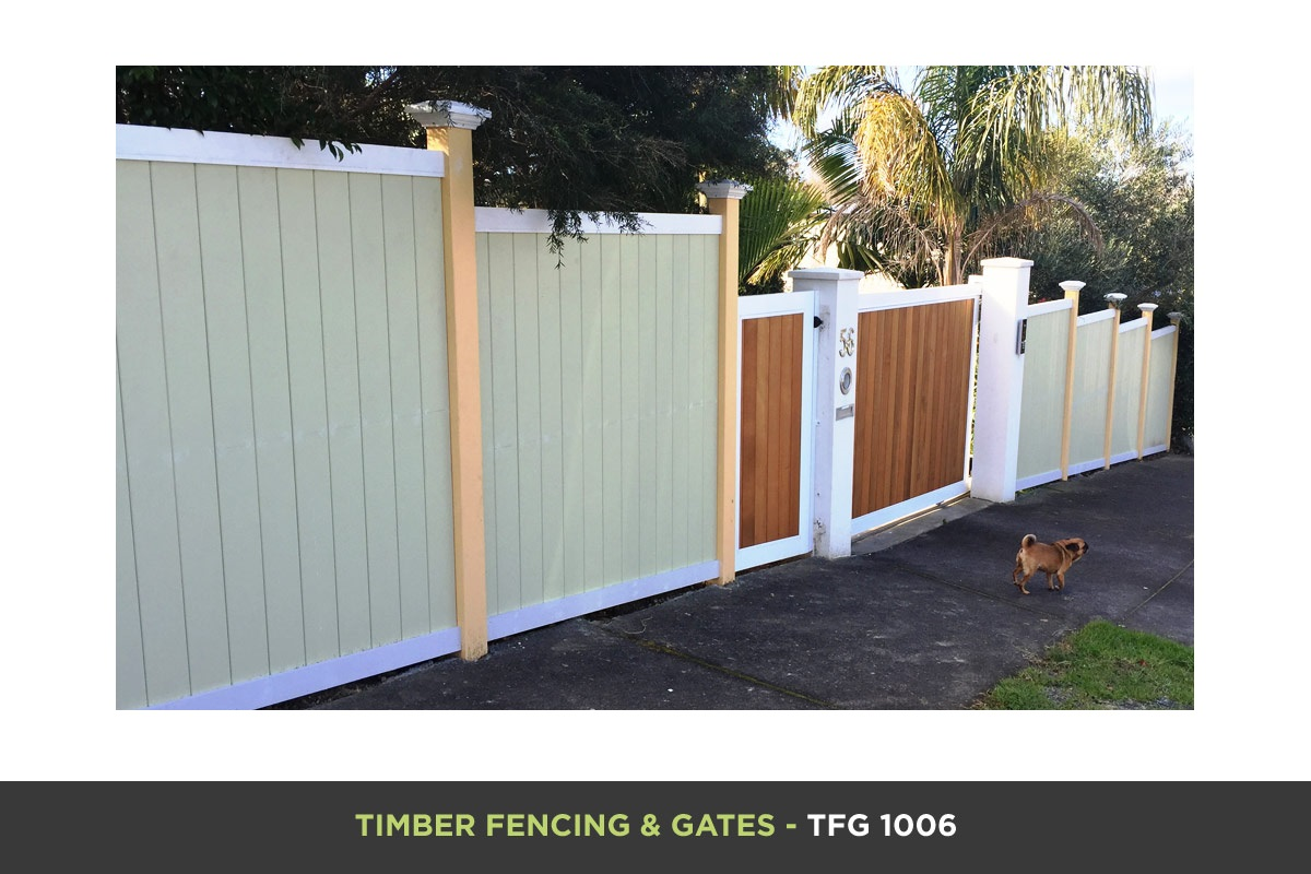 Timber Fencing and Gates - TFG 1006