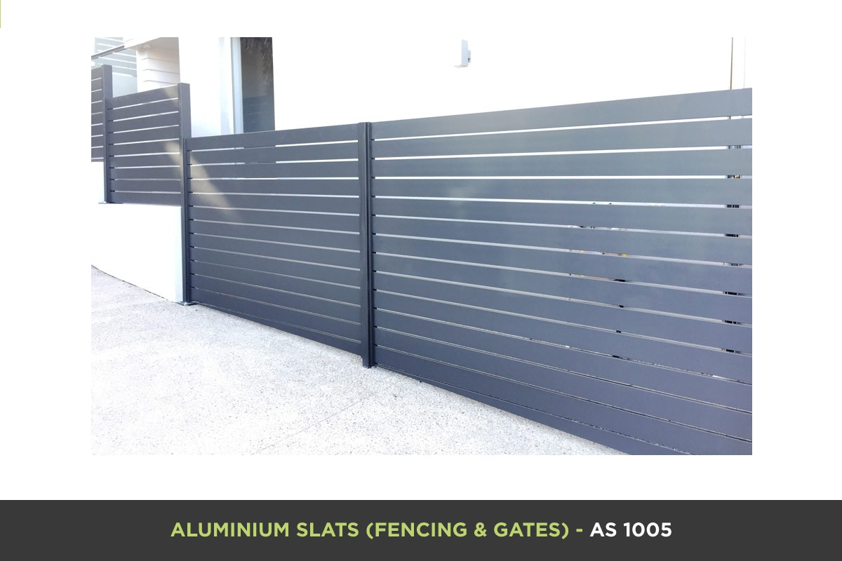Aluminium Slat Gate - AS 1005