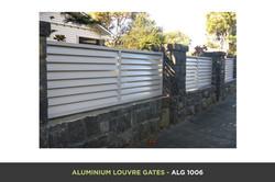 Aluminium Louvre Gate - ALG 1006
