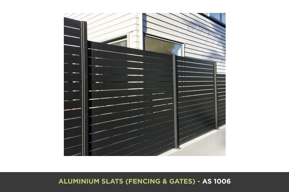 Aluminium Slat Gate - AS 1006