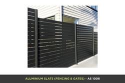 Aluminium Slat Gate - AS 1006