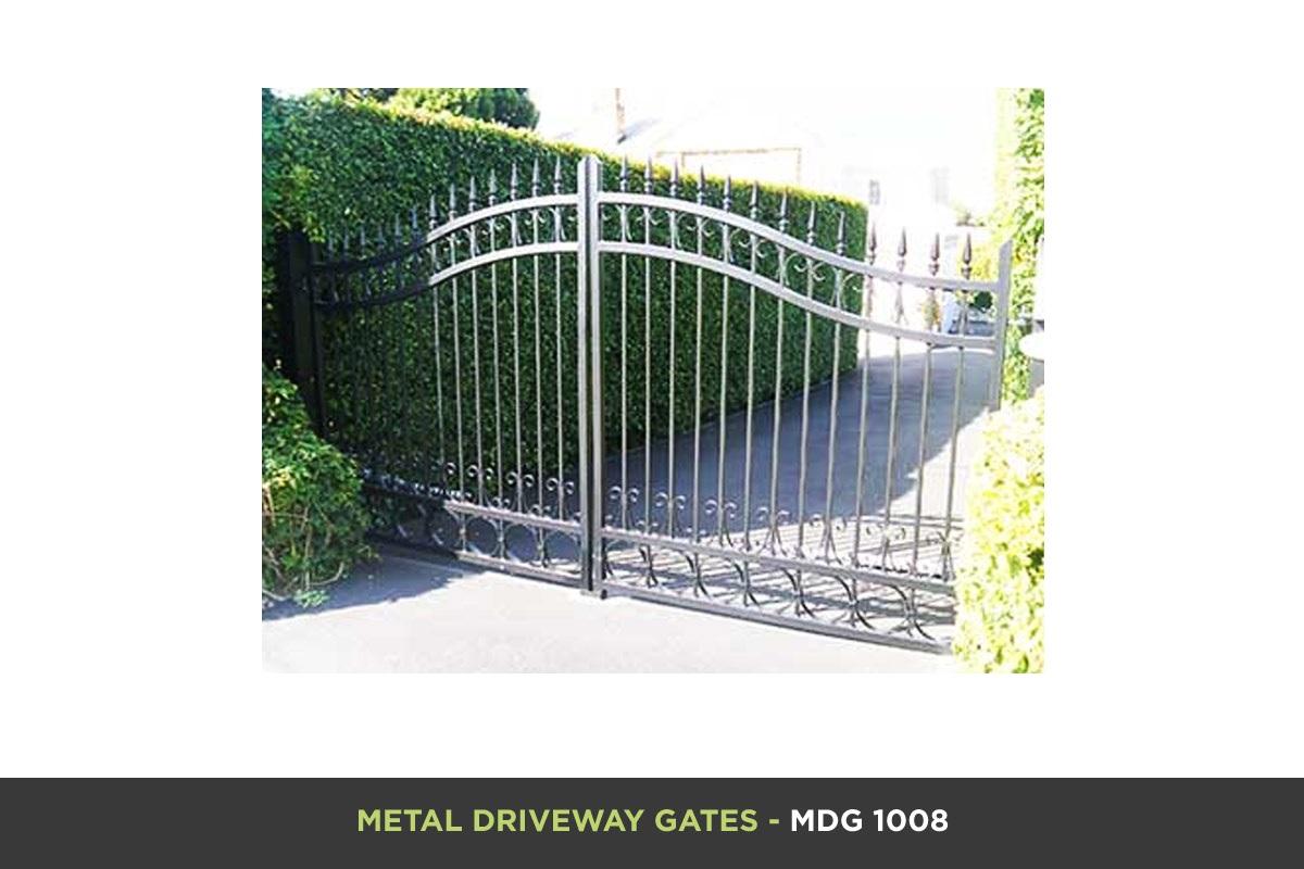 Metal Driveway Gate - MDG 1008