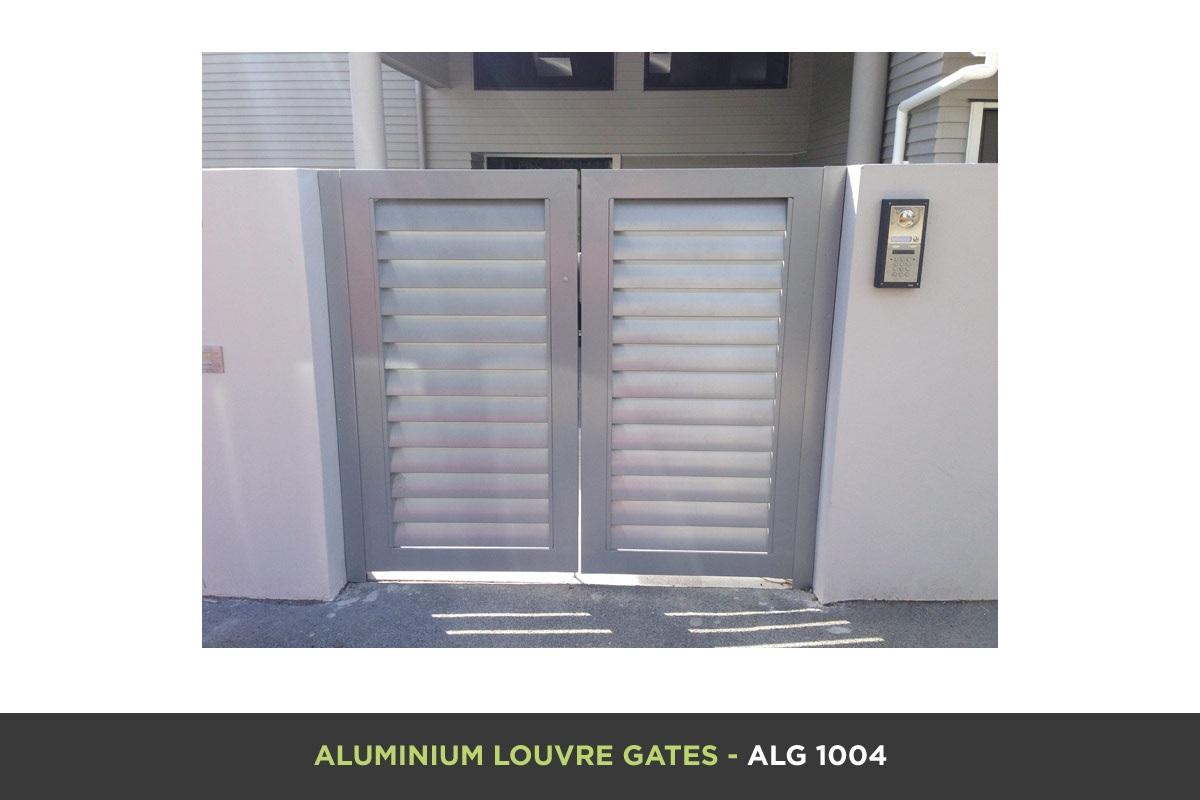 Aluminium Louvre Gate - ALG 1004