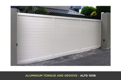 Aluminium Tongue and Groove Gate - ATGV