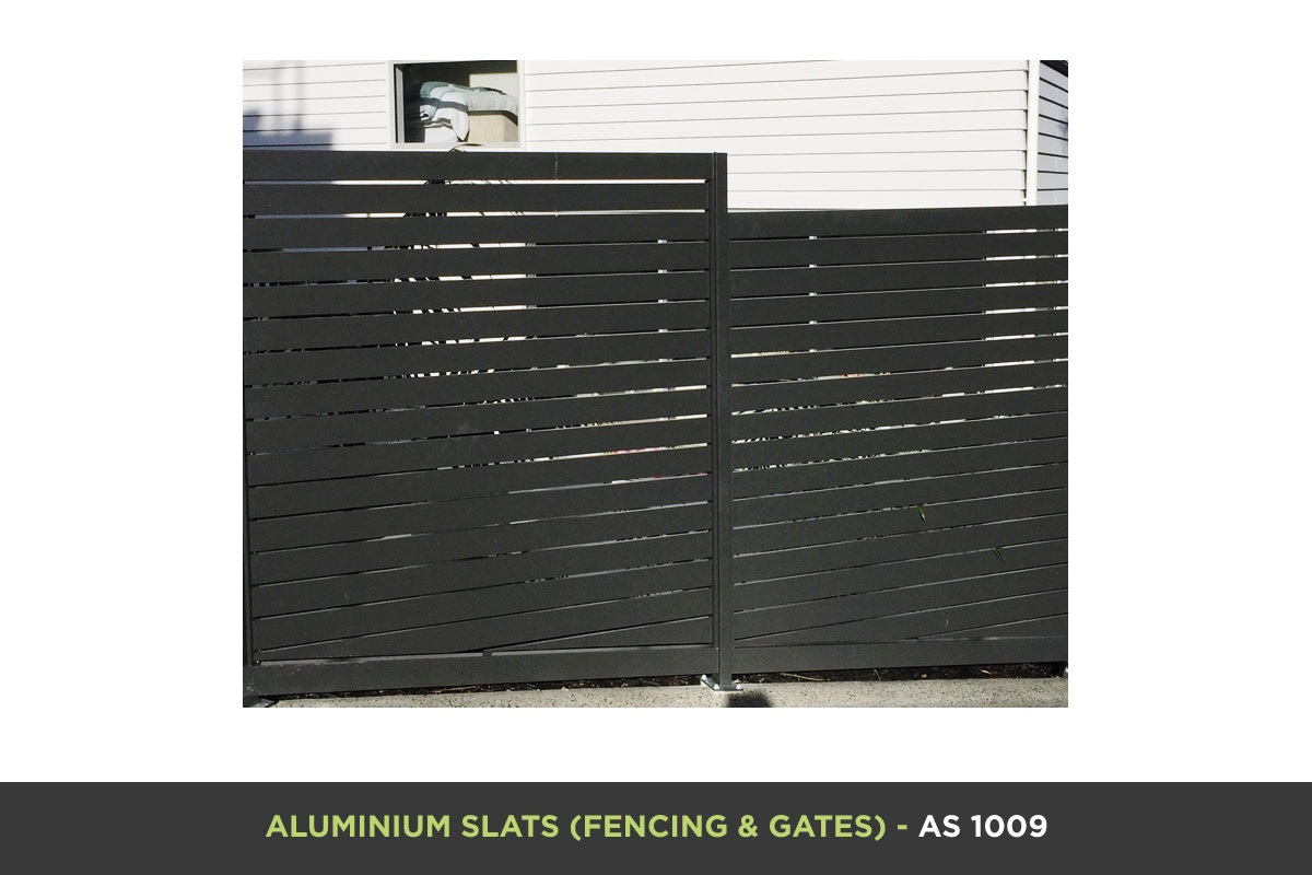 Aluminium Slat Gate - AS 1009