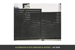 Aluminium Slat Gate - AS 1009