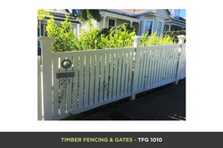 Timber Fencing and Gates - TFG 1010