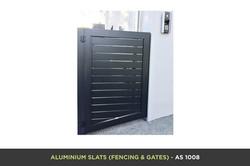 Aluminium Slat Gate - AS 1008