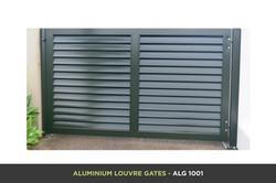 Aluminium Louvre Gate - ALG 1001