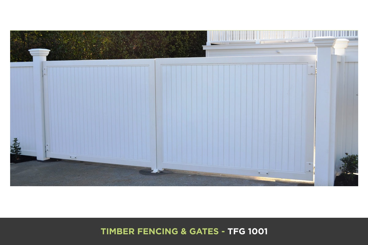 Timber Fencing and Gates - TFG 1001