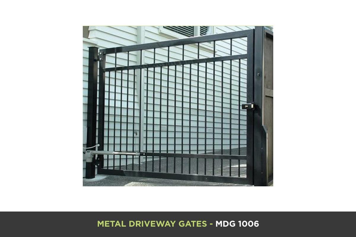 Metal Driveway Gate - MDG 1006