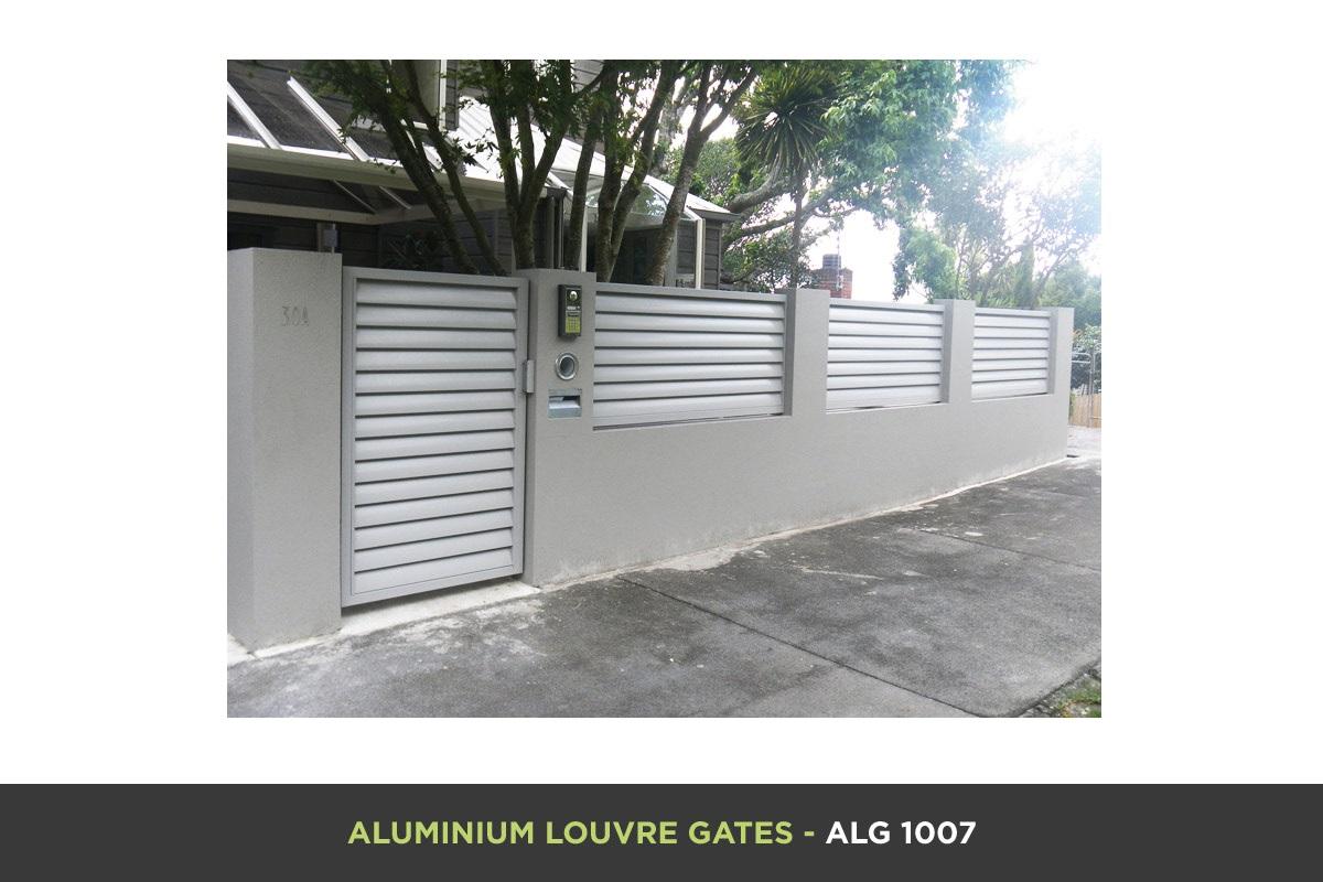 Aluminium Louvre Gate - ALG 1007