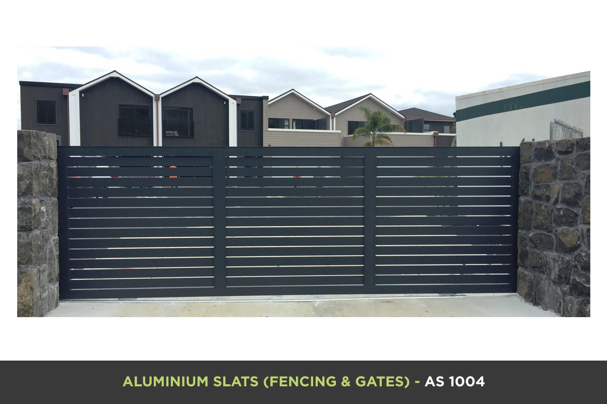 Aluminium Slat Gate - AS 1004