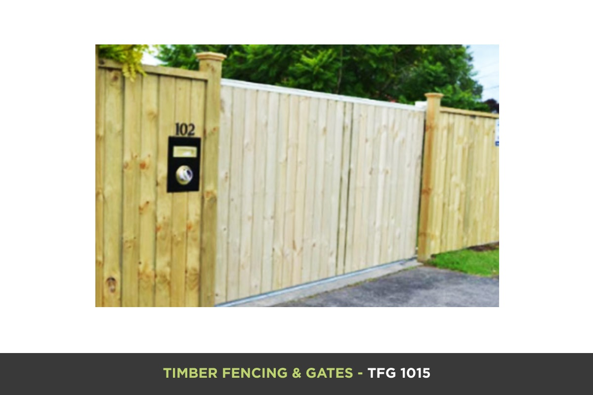 Timber Fencing and Gates - TFG 1015