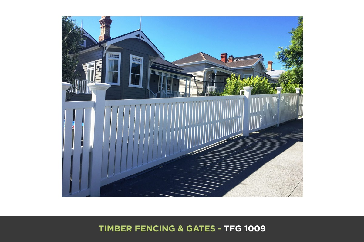 Timber Fencing and Gates - TFG 1009