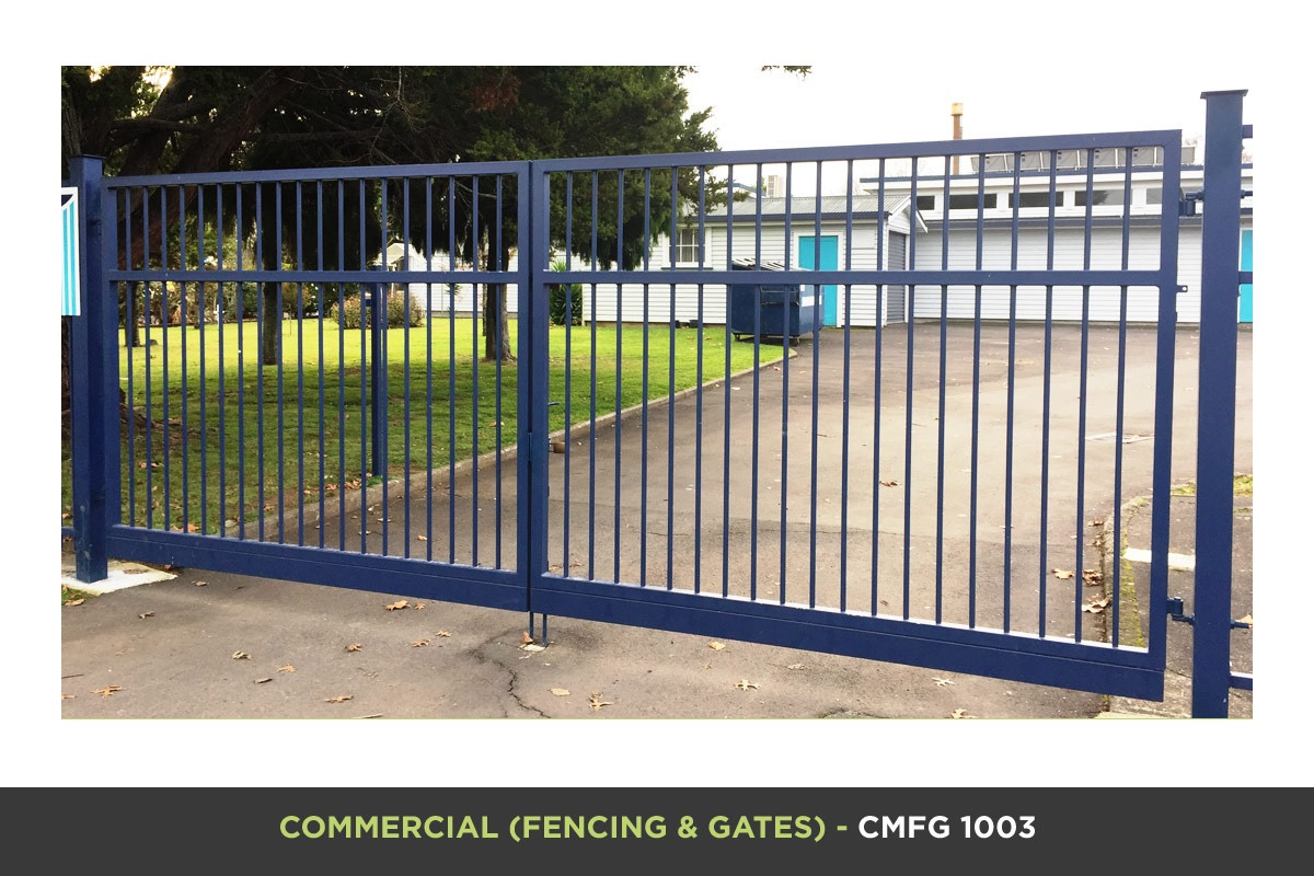 Commercial Fencing and Gates - CMFG 1003