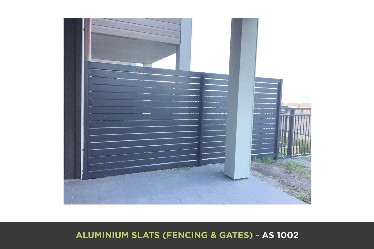 Aluminium Slat Gate - AS 1002