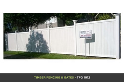 Timber Fencing and Gates - TFG 1012