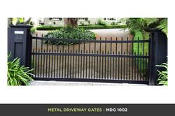 Metal Driveway Gate - MDG 1002