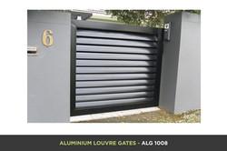 Aluminium Louvre Gate - ALG 1008