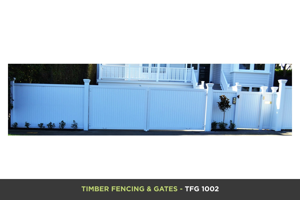 Timber Fencing and Gates - TFG 1002