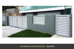 Aluminium Louvre Gate - ALG 1011