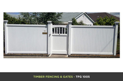 Timber Fencing and Gates - TFG 1005