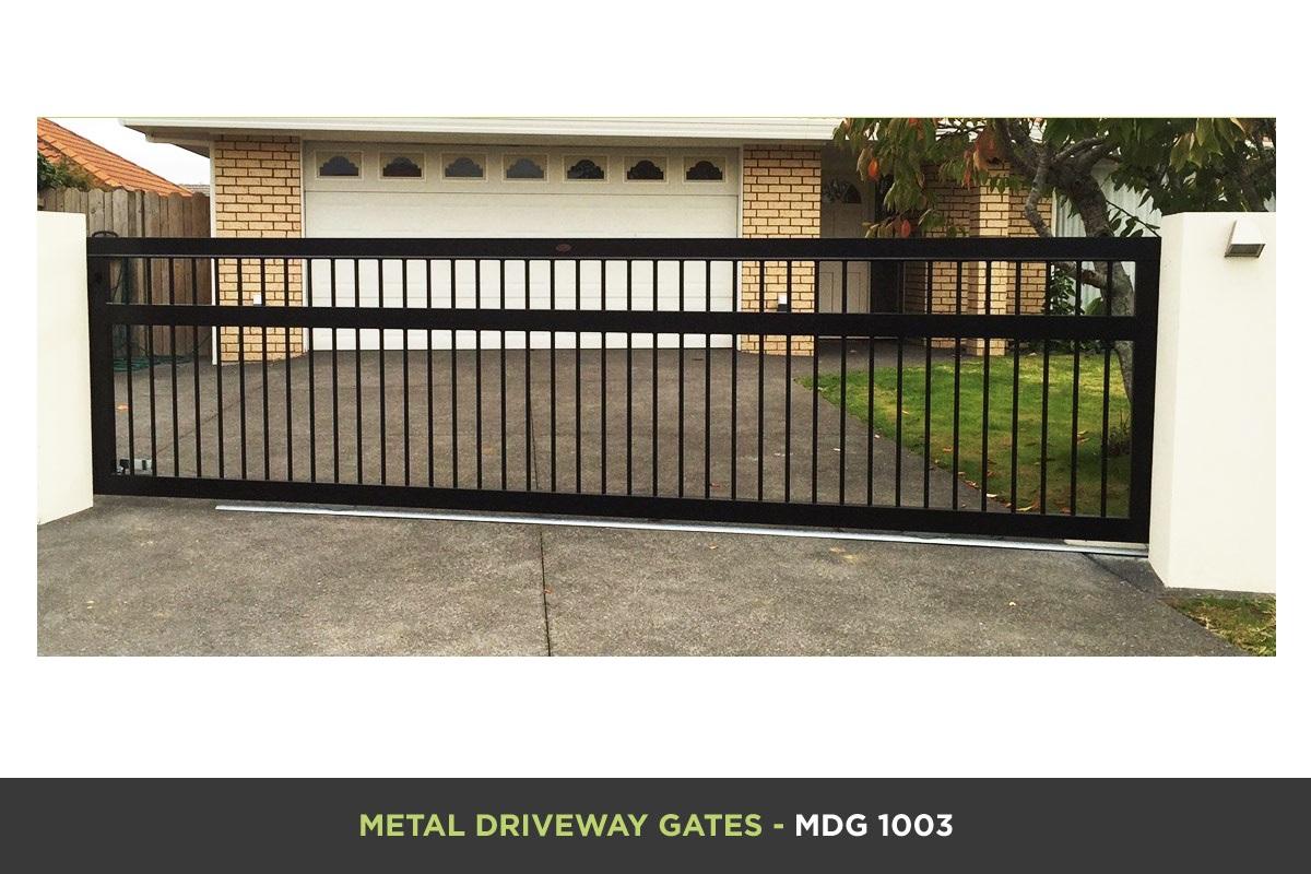 Metal Driveway Gate - MDG 1003