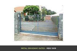 Metal Driveway Gate - MDG 1009