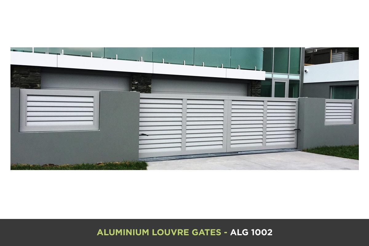 Aluminium Louvre Gate - ALG 1002
