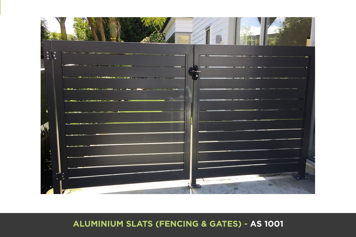 Aluminium Slat Gate - AS 1001
