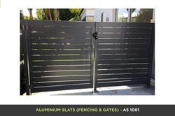 Aluminium Slat Gate - AS 1001
